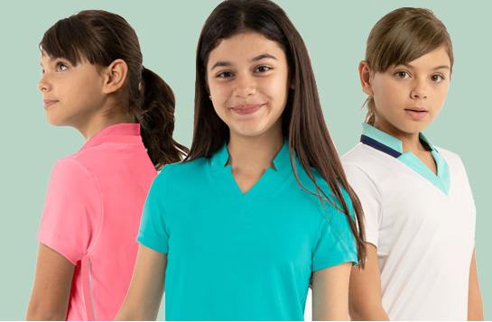 junior apparel and golf clothing