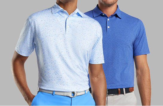 men golf apparel and clothing